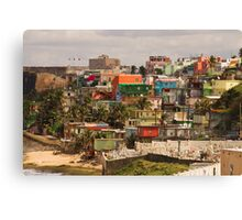 The City Of Old San Juan Canvas Print