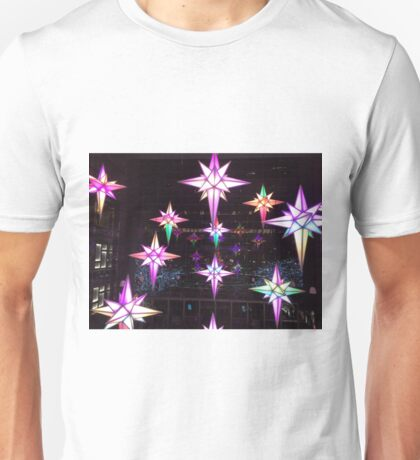 Holiday Lights, Time Warner Center, Columbus Circle, New York City  T-Shirt