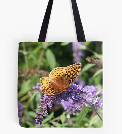 Butterfly Season - Great Spangled Fritillary Tote Bag