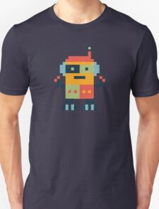 Happy Robot Pattern Unisex T-Shirt