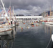 Wooden Boat Festival, Hobart by Wendy Dyer
