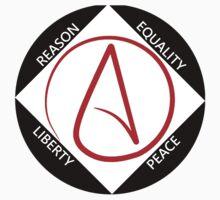 Reason, Equality, Liberty, Peace, One Piece - Long Sleeve