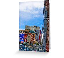Downtown San Francisco Greeting Card