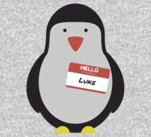 Luke Hemmings 5sos Penguin Kids Tee