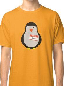 Luke Hemmings 5sos Penguin Classic T-Shirt