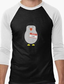 Luke Hemmings 5sos Penguin Men's Baseball ¾ T-Shirt