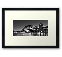 Towards the Bridge Framed Print