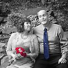 Happy Couple (selective color) by lroof
