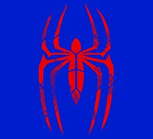 Spider-Man Segmented Logo (Classic Colors) by JoshBeck