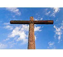 Beneath the Cross of Jesus Photographic Print