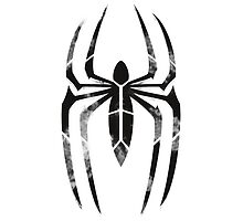 Spider-Man Segmented Logo (White Background) by JoshBeck
