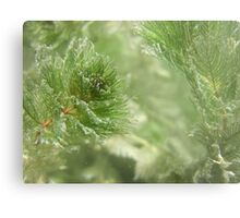 Christmas Weed  Metal Print
