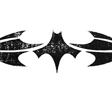 Batman Segmented Logo (White Background) by JoshBeck