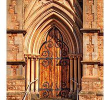 The Church Door & surrounds. Photographic Print