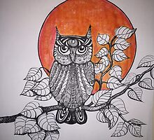 Michaels night owl by billimaus