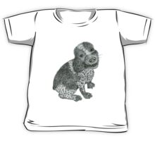 Cocker Spaniel in Pencil Kids Tee
