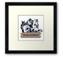 Team Science Framed Print