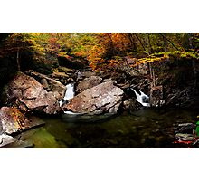Boone Fork Creek Photographic Print