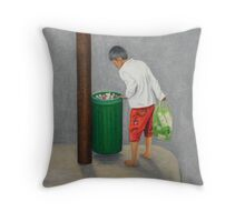 Nada Throw Pillow
