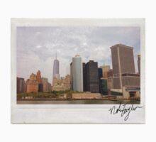 New York Skyline Polaroid Baby Tee