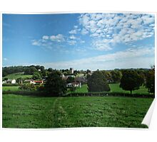 View To Our Village Poster