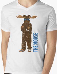 I Am The Moose (distressed) Mens V-Neck T-Shirt