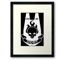 We Are ODST (White Logo) Framed Print