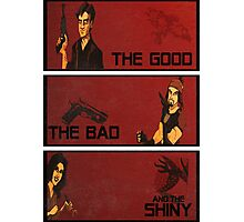 The good,the bad and the SHINY! Photographic Print