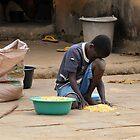 Poor Africa by barlevitay