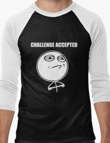 Challenge accepted Men's Baseball ¾ T-Shirt