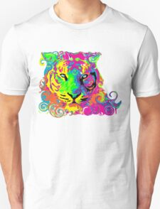 PSYCHEDELIC TIGER Unisex T-Shirt
