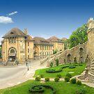 Iasi city, Romania - panorama by wildrain