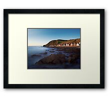 Crovie, Aberdeenshire, Scottish Highlands Framed Print