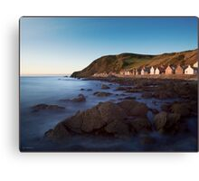 Crovie, Aberdeenshire, Scottish Highlands Canvas Print