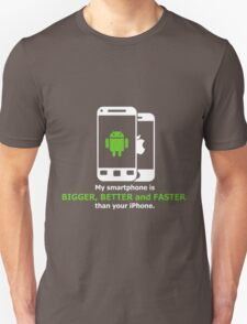 My smartphone is better T-Shirt
