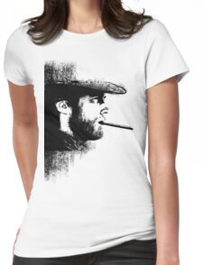 THE MAN WITH NO NAME Womens Fitted T-Shirt