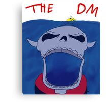 DM From The Deep Canvas Print