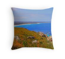 Four mile beach from above Throw Pillow