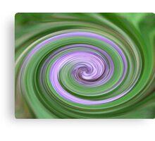 The Swirl Canvas Print