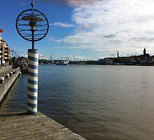 Gothenburg harbour by KatarinaD
