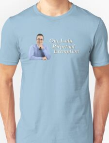 Our Lady of Perpetual Exemption T-Shirt