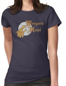 Worgen's Howl Womens Fitted T-Shirt