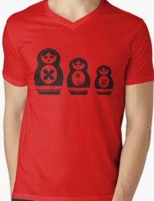 Babushka Dolls Mens V-Neck T-Shirt