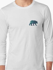 Blue Bear Spirit Animal Long Sleeve T-Shirt