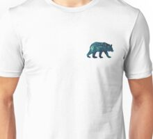 Blue Bear Spirit Animal Unisex T-Shirt