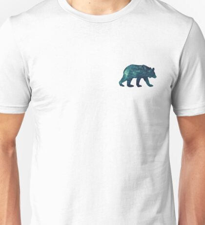 Blue Bear Spirit Animal Unisex T-Shirt