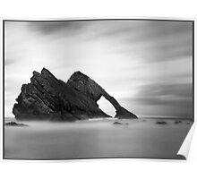 Bow Fiddle Rock, Scottish Highlands. Poster