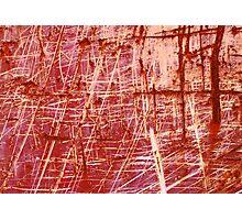 Static X Photographic Print