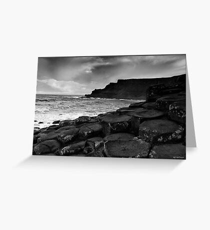 Giants Causeway 2, Northern Ireland Greeting Card