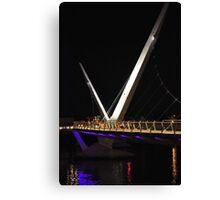 Peace Bridge 2 Canvas Print